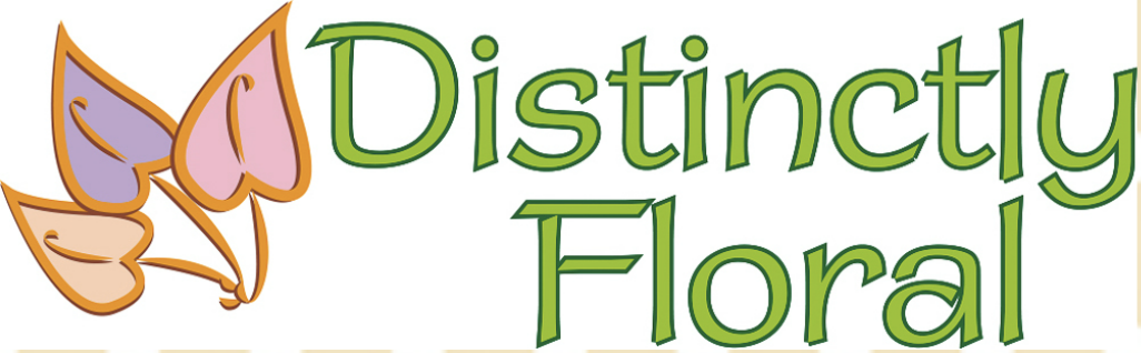 Distinctly floral Logo