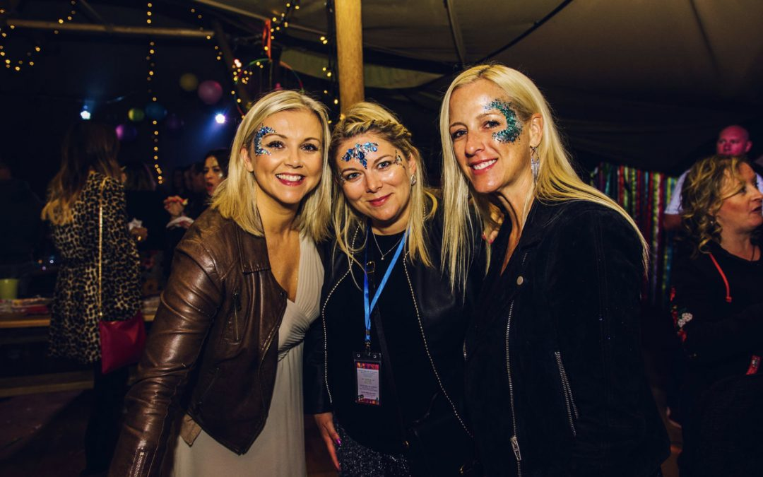 Luxurious glitter bar fairies
