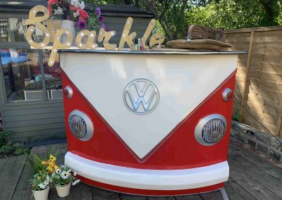 Classic campervan split bar
